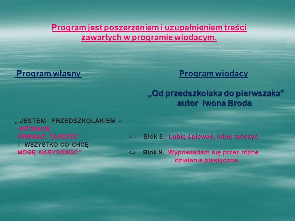 Program jest poszerzeniem i uzupełnieniem treści
