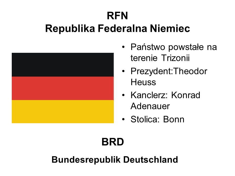 RFN Republika Federalna Niemiec