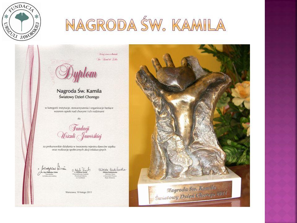 Nagroda Św. kamila