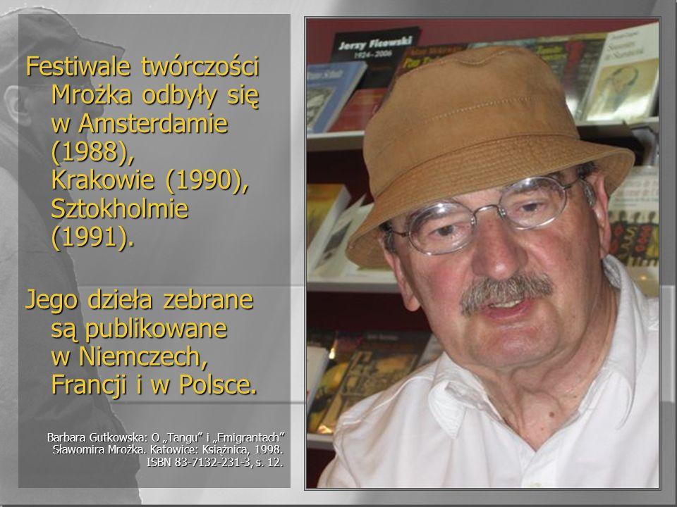 Jego dzieła zebrane są publikowane w Niemczech, Francji i w Polsce.