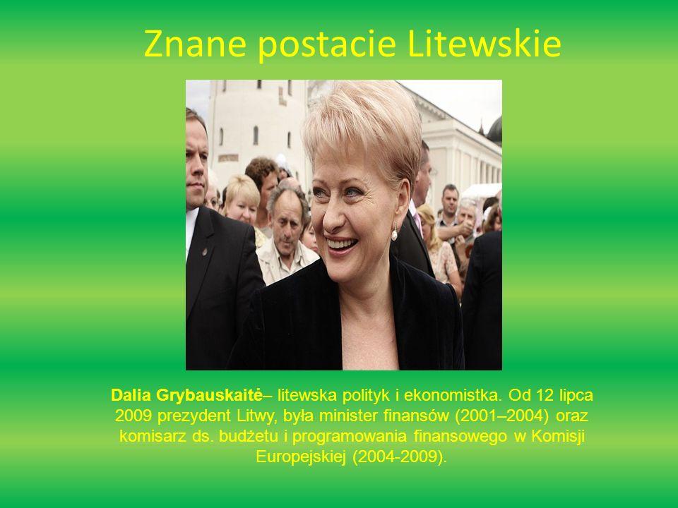 Znane postacie Litewskie