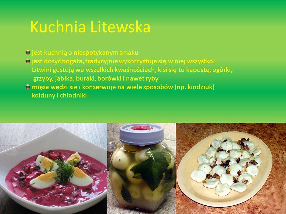 Kuchnia Litewska jest kuchnią o niespotykanym smaku
