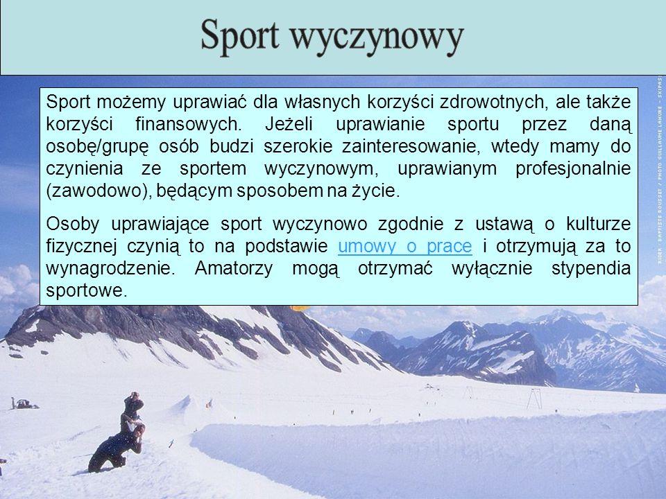 Sport wyczynowy