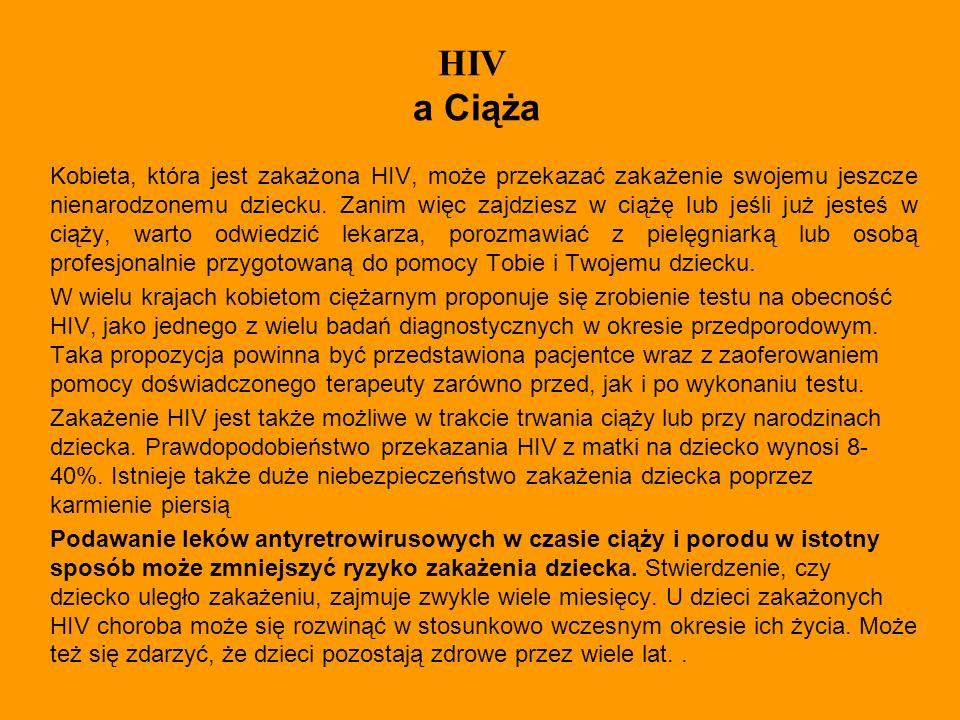 HIV a Ciąża