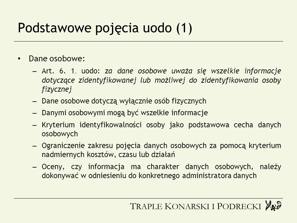Podstawowe pojęcia uodo (1)