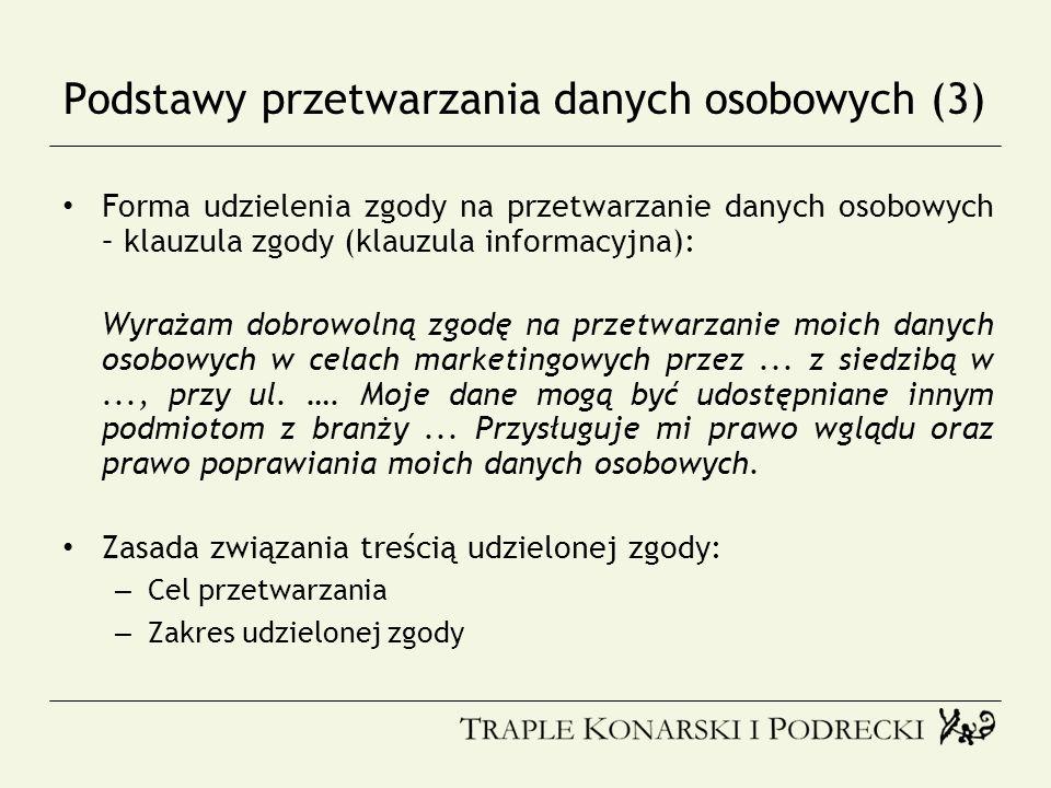 Podstawy przetwarzania danych osobowych (3)