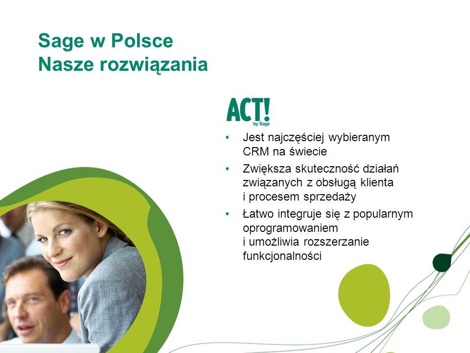 Sage w Polsce Nasze rozwiązania