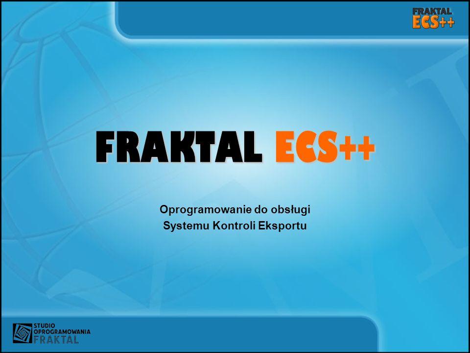Oprogramowanie do obsługi Systemu Kontroli Eksportu