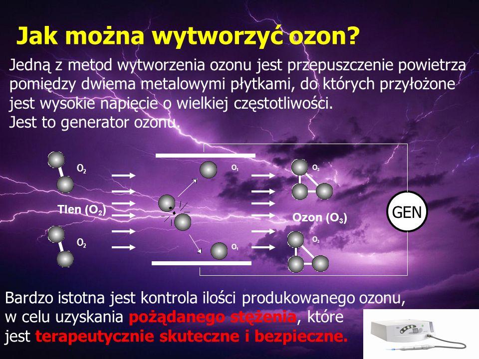 Jak można wytworzyć ozon