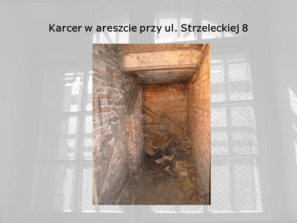 Karcer w areszcie przy ul. Strzeleckiej 8