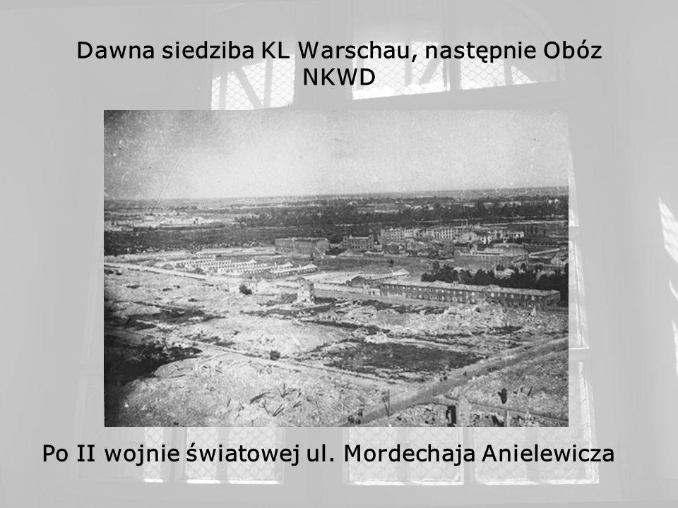 Dawna siedziba KL Warschau, następnie Obóz NKWD