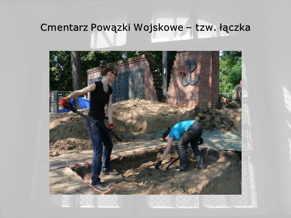 Cmentarz Powązki Wojskowe – tzw. łączka