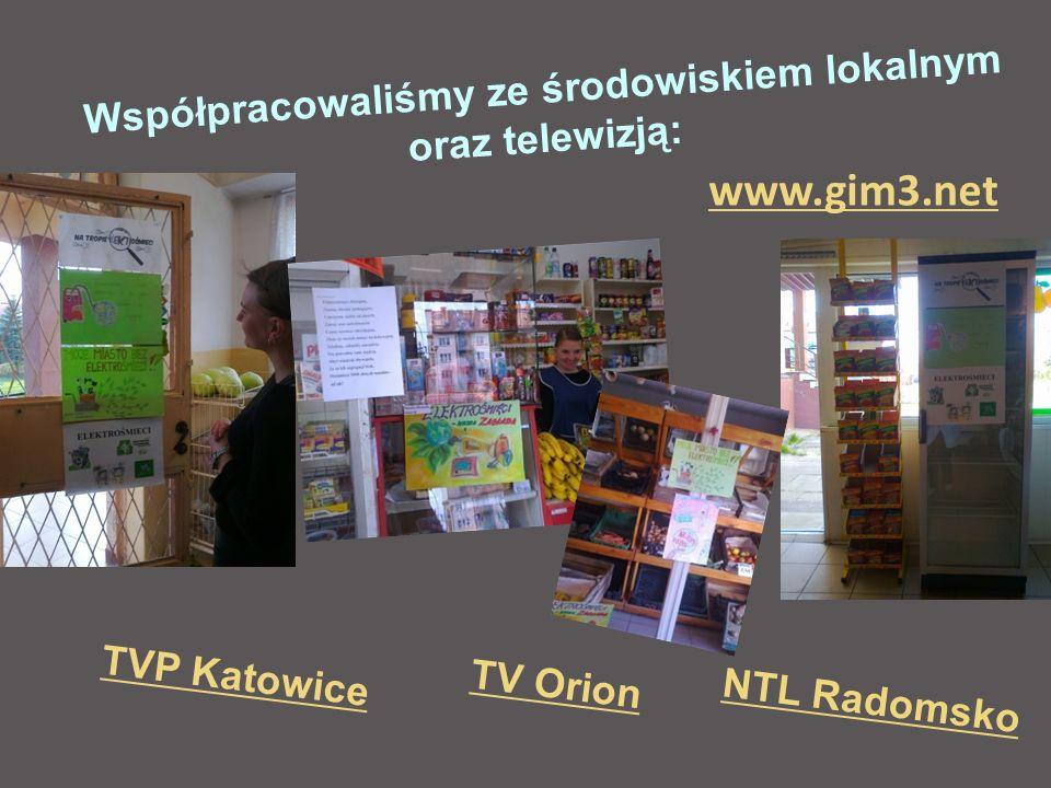 Współpracowaliśmy ze środowiskiem lokalnym oraz telewizją: