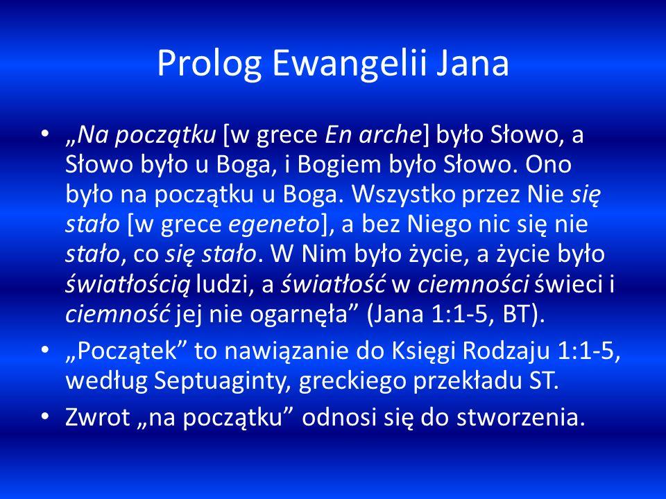 Prolog Ewangelii Jana