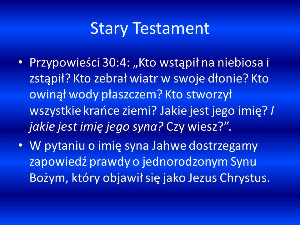 Stary Testament