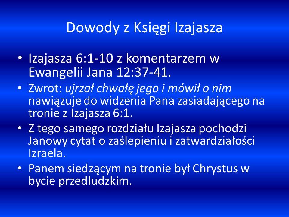 Dowody z Księgi Izajasza