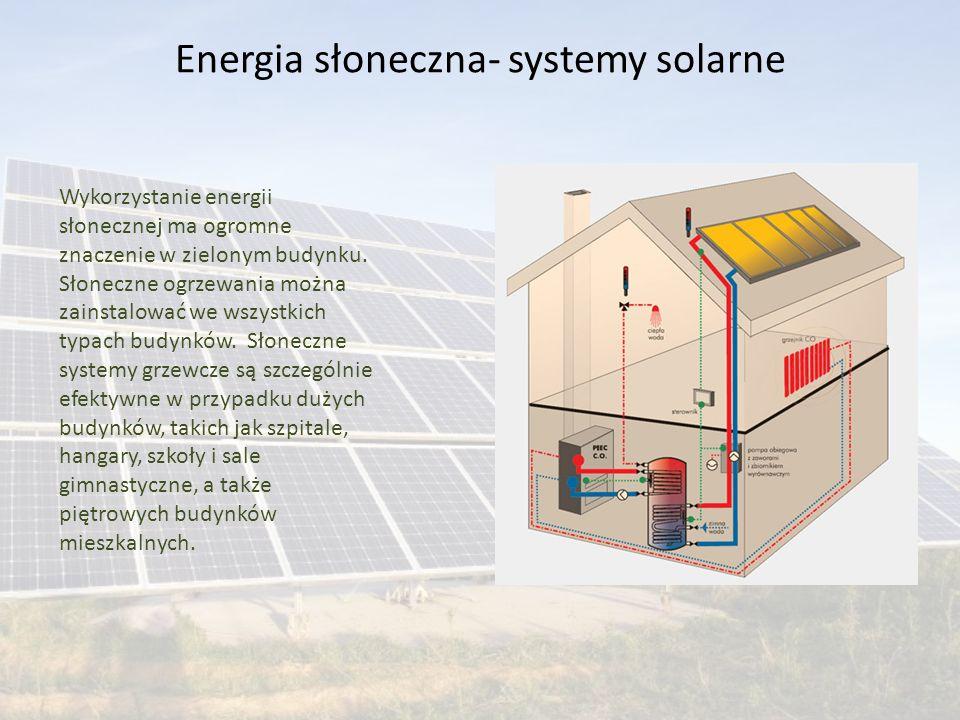 Energia słoneczna- systemy solarne