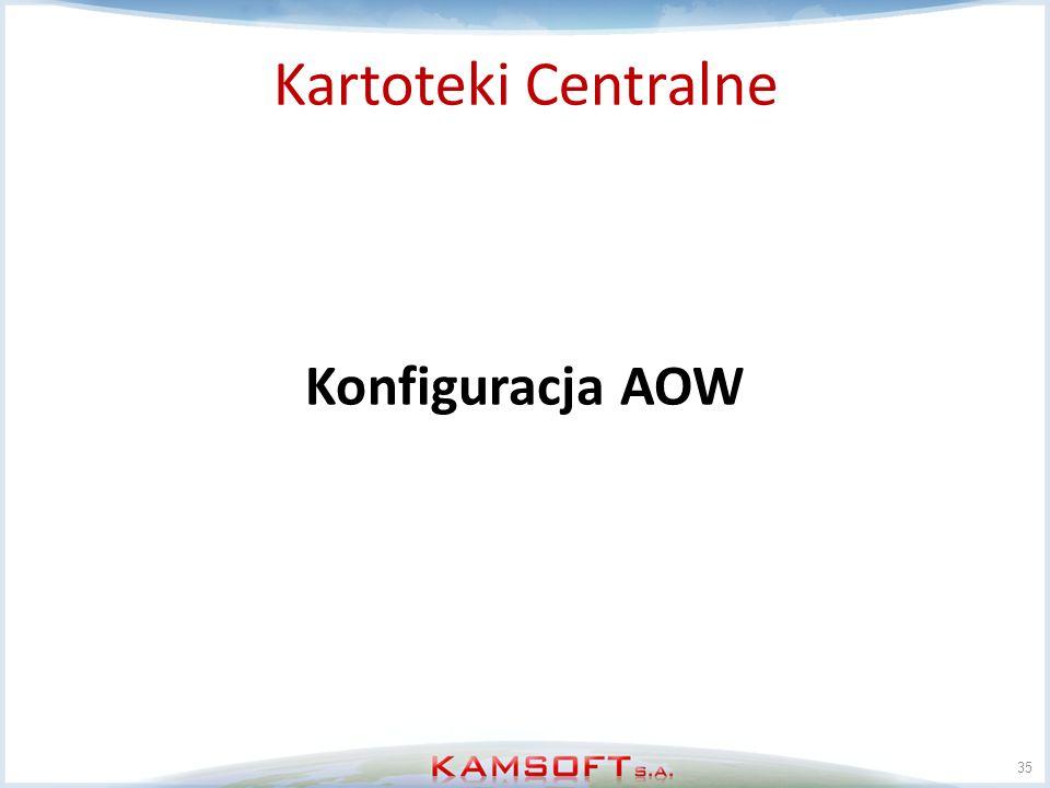 Kartoteki Centralne Konfiguracja AOW