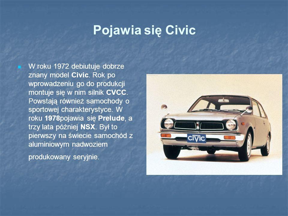 Pojawia się Civic