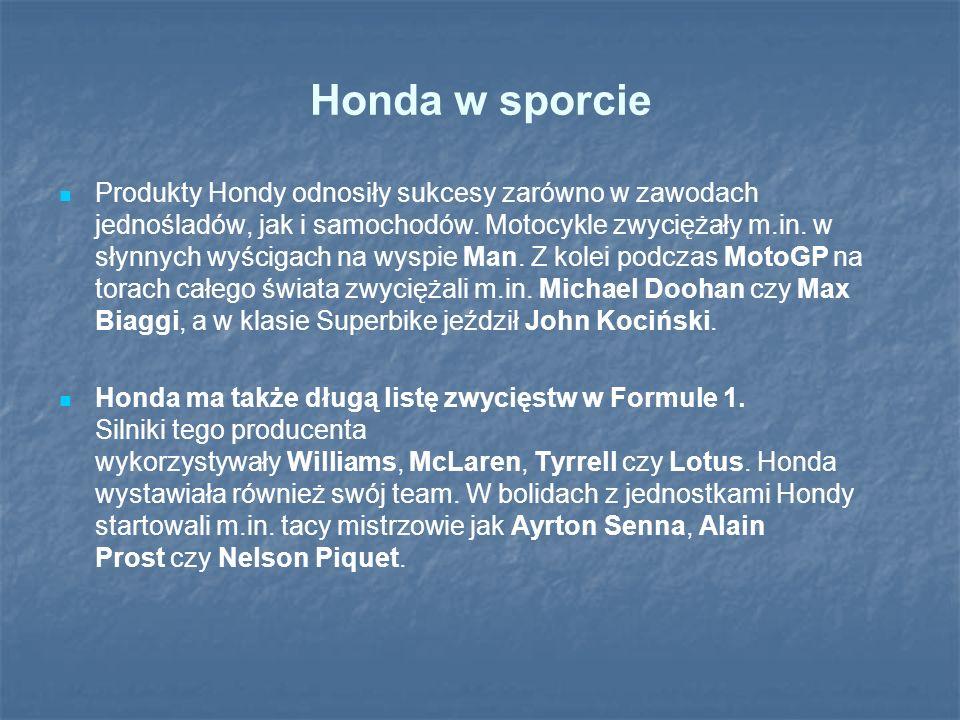 Honda w sporcie
