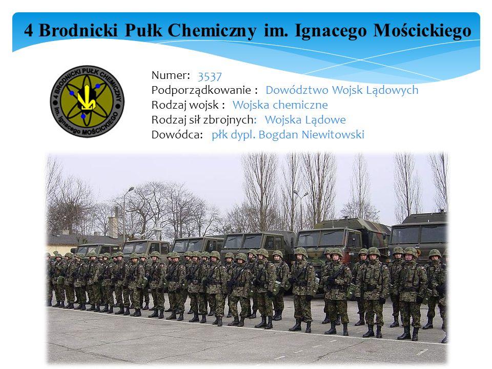 4 Brodnicki Pułk Chemiczny im. Ignacego Mościckiego