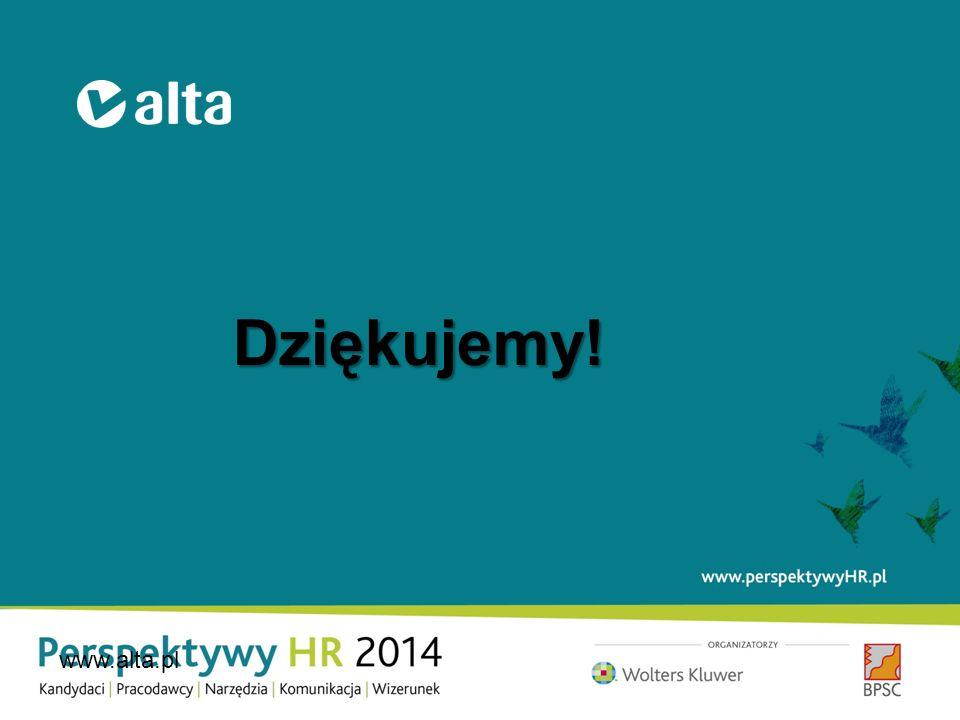 Dziękujemy! www.alta.pl