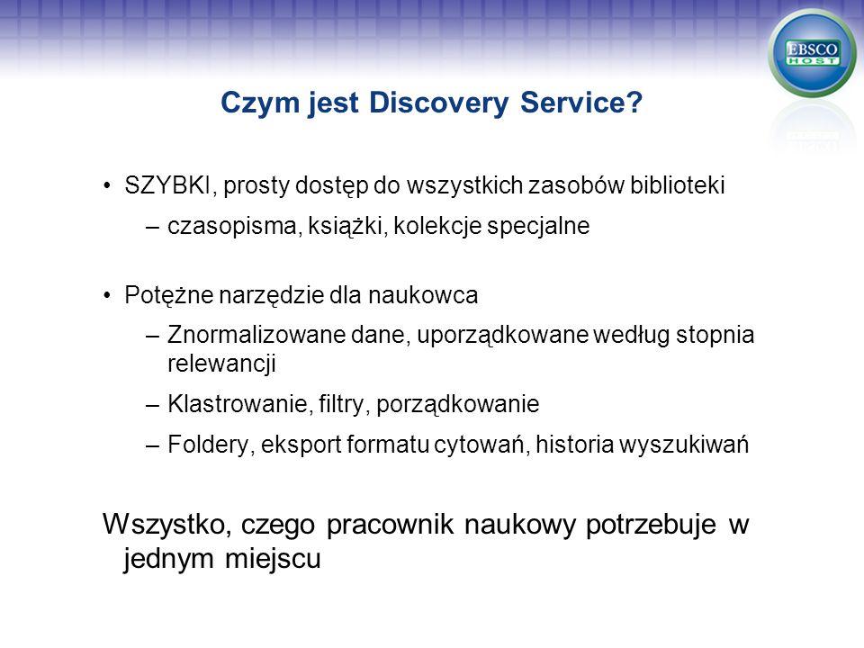Czym jest Discovery Service