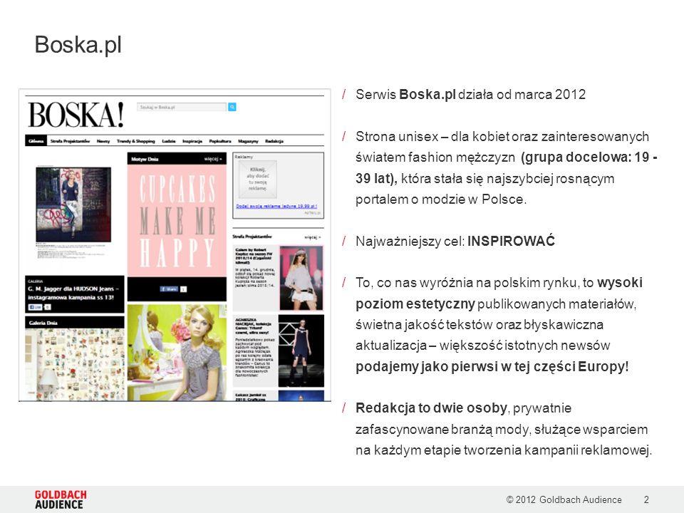 Boska.pl Serwis Boska.pl działa od marca 2012