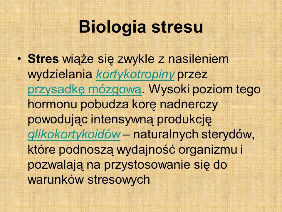 Biologia stresu