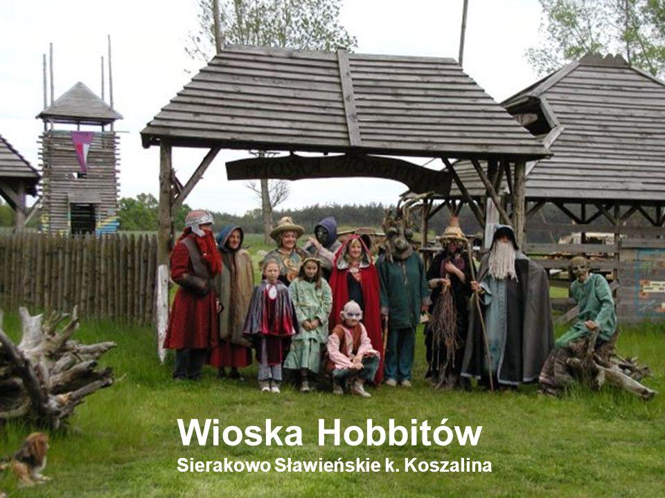 Wioska Hobbitów Sierakowo Sławieńskie k. Koszalina