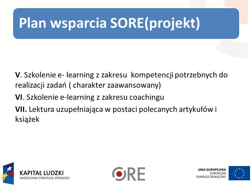 Plan wsparcia SORE(projekt)
