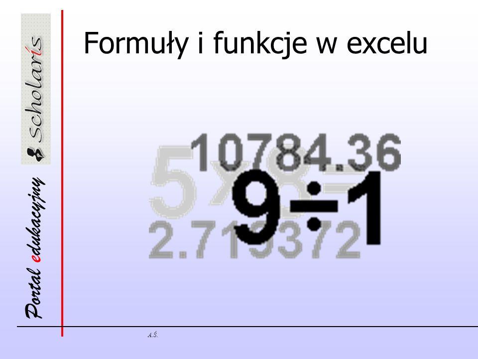 Formuły i funkcje w excelu