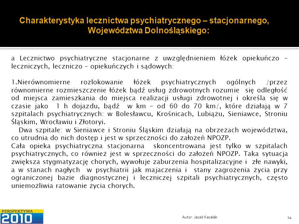 Województwa Dolnośląskiego: