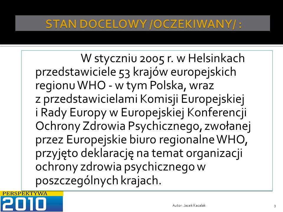 STAN DOCELOWY /OCZEKIWANY/ :