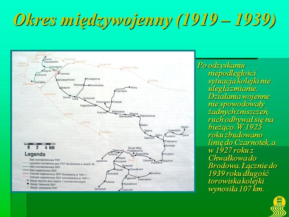 Okres międzywojenny (1919 – 1939)