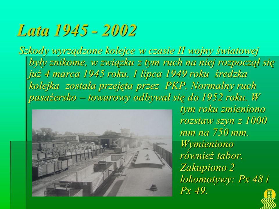 Lata 1945 - 2002