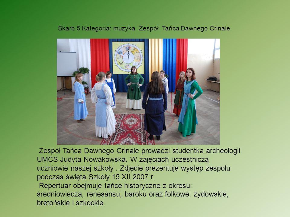 Skarb 5 Kategoria: muzyka Zespół Tańca Dawnego Crinale