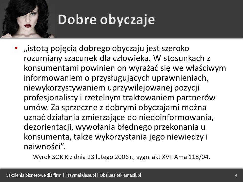Wyrok SOKiK z dnia 23 lutego 2006 r., sygn. akt XVII Ama 118/04.
