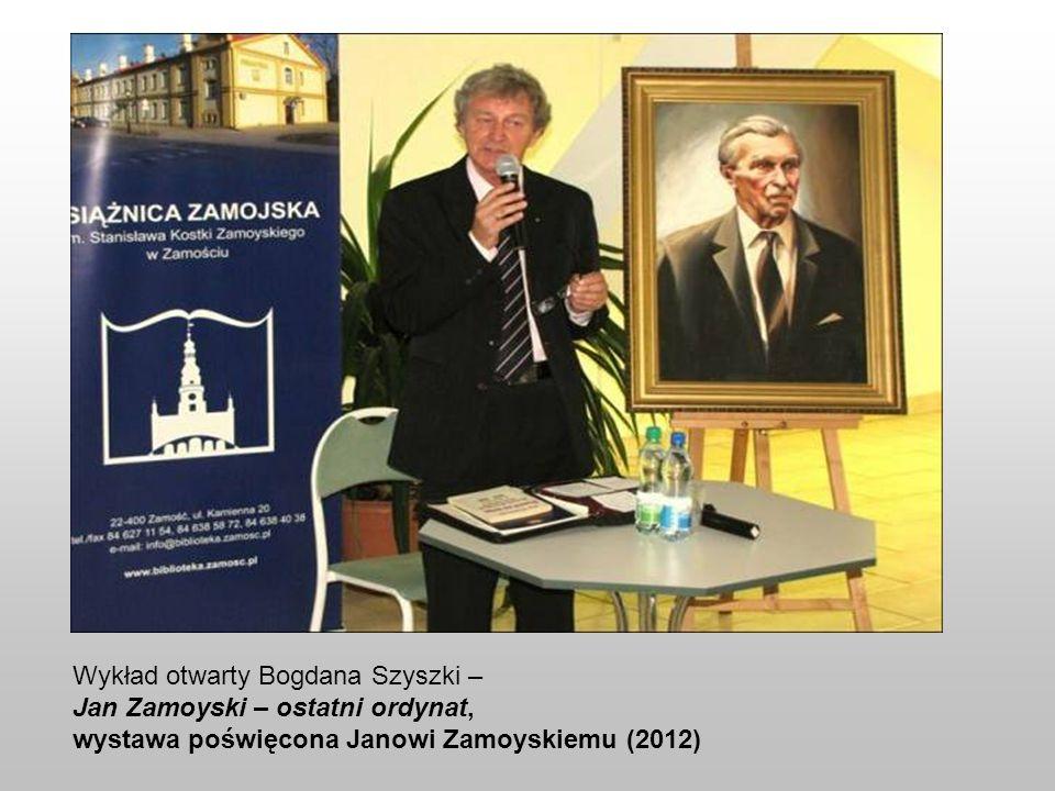 Wykład otwarty Bogdana Szyszki –
