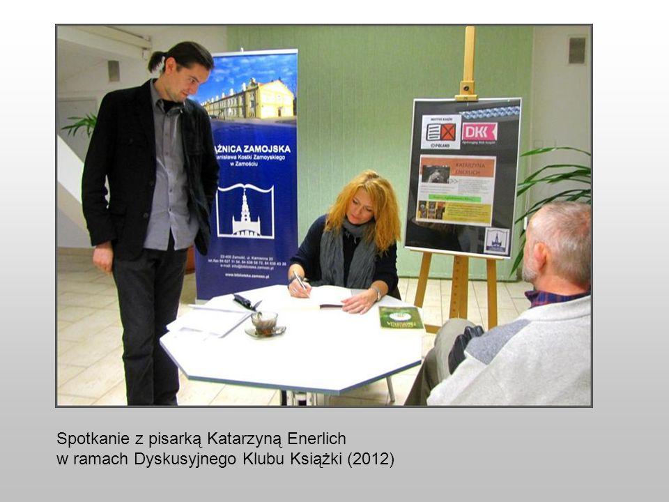 Spotkanie z pisarką Katarzyną Enerlich
