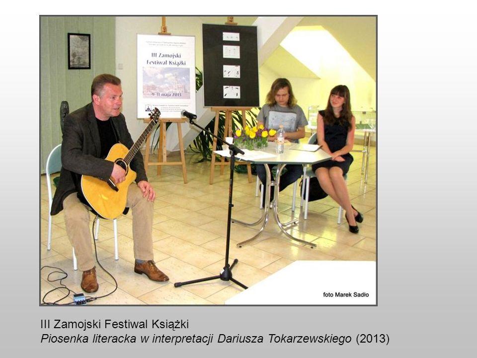 III Zamojski Festiwal Książki