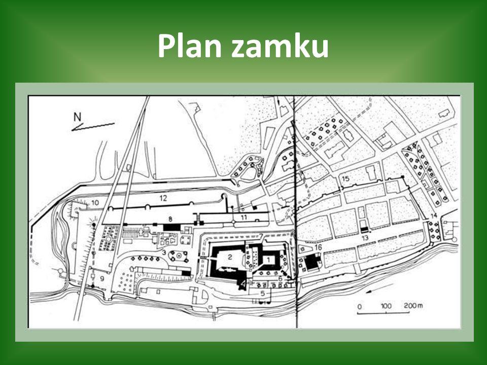 Plan zamku