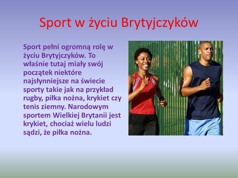 Sport w życiu Brytyjczyków