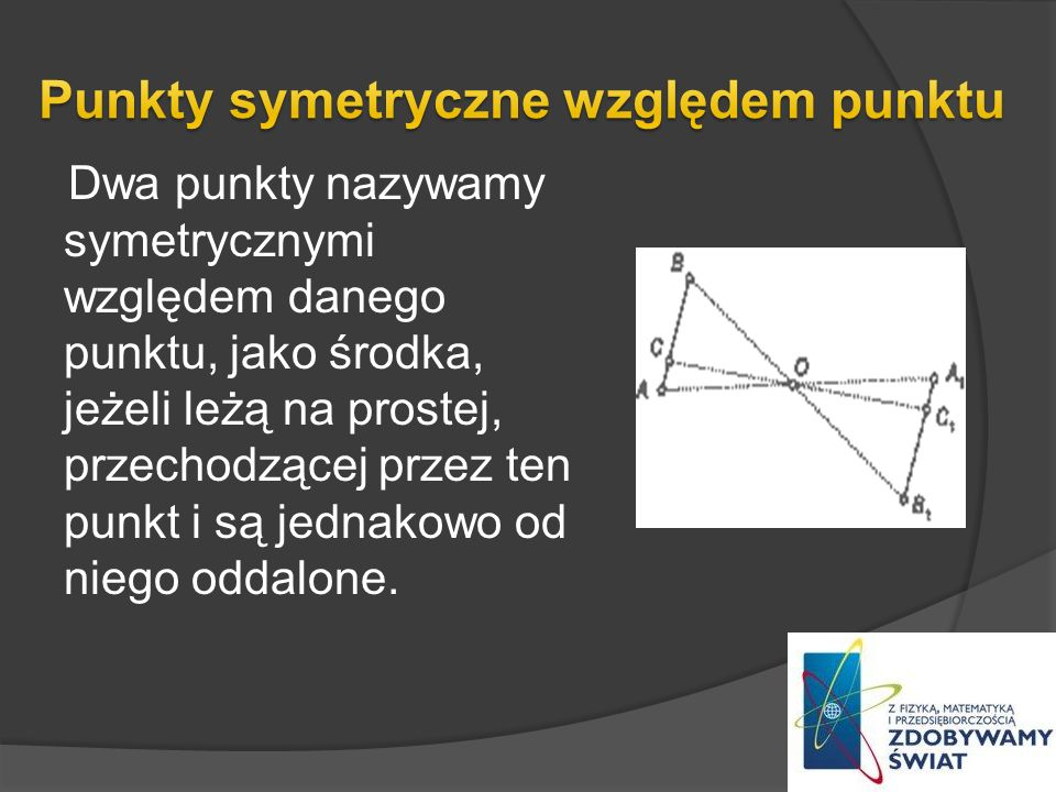 Punkty symetryczne względem punktu
