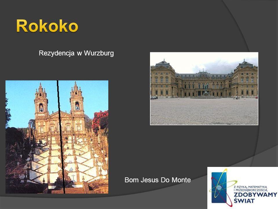 Rokoko Rezydencja w Wurzburg Bom Jesus Do Monte