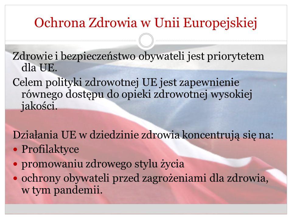 Ochrona Zdrowia w Unii Europejskiej