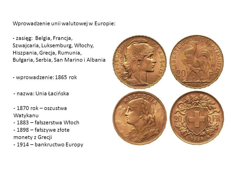 Wprowadzenie unii walutowej w Europie: