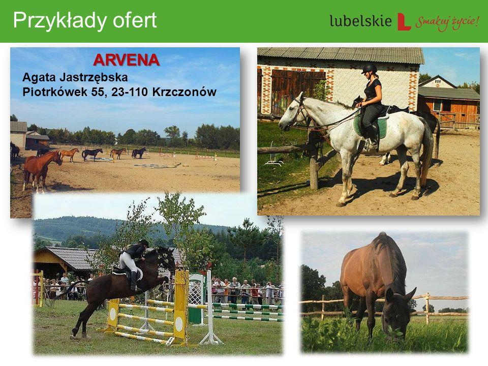 Przykłady ofert ARVENA Agata Jastrzębska