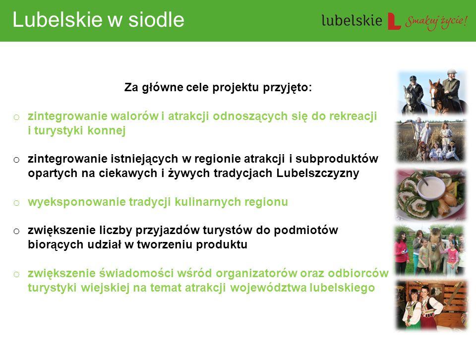 Za główne cele projektu przyjęto: