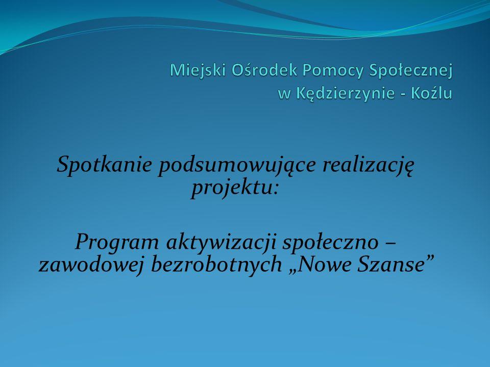 Miejski Ośrodek Pomocy Społecznej w Kędzierzynie - Koźlu